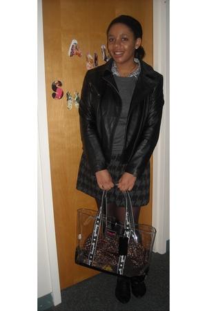 Betsey Johnson purse - Express skirt - Charlotte Rouse top - lulus shoes - rache