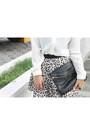Black-secosana-bag-brown-animal-print-bazaar-skirt