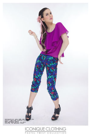 IconiQue blouse - IconiQue pants
