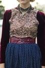Ruby-red-velvet-thrifted-vintage-dress