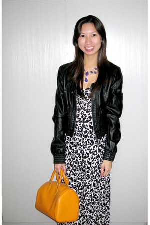 Zara jacket - Louis Vuitton bag