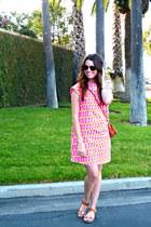 printed kate spade dress - ankle strap Target sandals