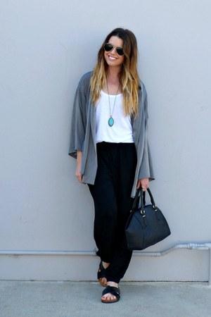 tank top StyleMint top - lounge StyleMint pants - kimono StyleMint cardigan
