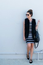 knit Target dress - suede Forever 21 shoes