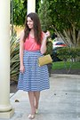 Salmon-sequined-jcrew-shirt-sailor-downeast-basics-skirt