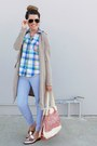 Trench-coat-forever-21-coat-old-navy-shirt-printed-old-navy-pants