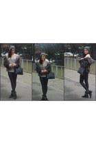 H&M jacket - next bag
