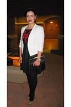 ruby red ily couture necklace - leopard print Aldo pumps