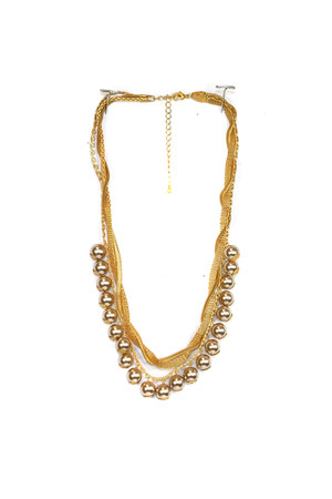gold pearl AbsoluteAccessorycom necklace