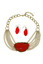 Red-brass-red-stone-absoluteaccessory-necklace