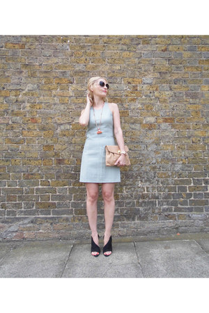 Alexander Wang dress - two tone peach Matthew Williamson sunglasses