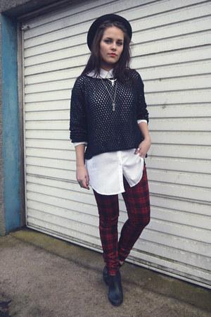 Pop Couture jumper - Topshop shirt - Pop Couture pants