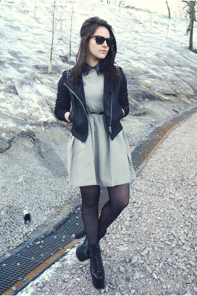 Sister Jane dress - new look jacket