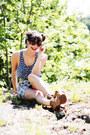 Nmph-skirt-flower-print-h-m-top-jeffrey-campbell-heels