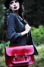 Dr-martens-boots-asos-hat-forever-21-blazer-the-leather-satchel-co-bag