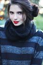 Black-army-nilson-boots-dark-gray-h-m-sweater-black-velvet-forever-21-tights