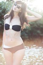 wayfarers ray-ban sunglasses - strapless Johanna Vikman swimwear