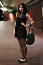 Black-sequined-gift-from-my-best-friends-mom-dress-leopard-print-h-m-tights