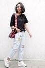 Jeans-sammydress-jeans-mulberry-bag-white-sammydress-sneakers