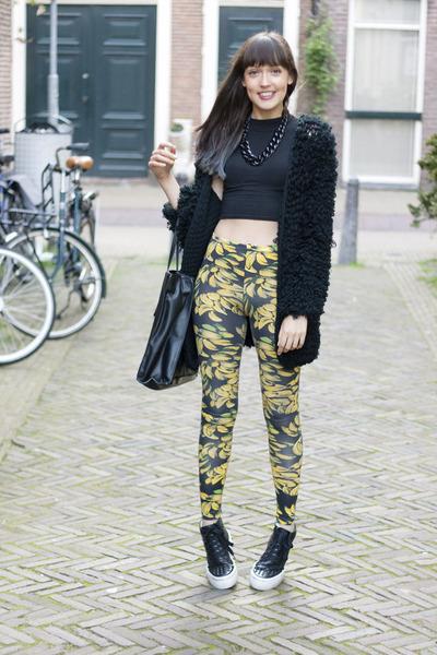 Topshop leggings - bronx sneakers