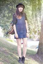 pinafore asos dress