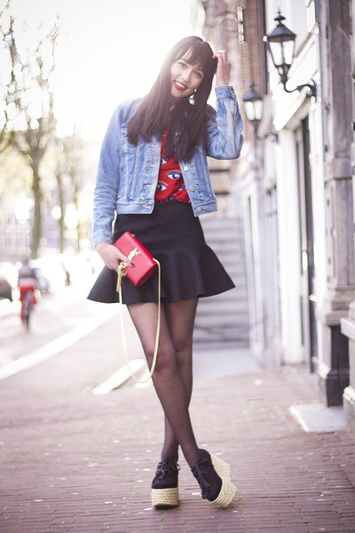 OASAP Blouses, Yves Saint Laurent Bags | \u0026quot;EYES ON YOU - VOTE ME TO ...