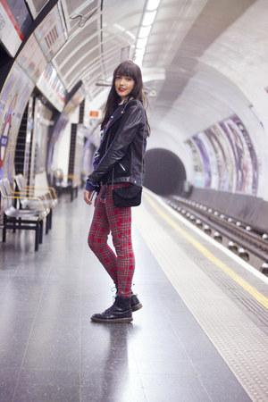 Topshop bag - Dr Martens boots