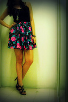 Zara shirt - Internet find skirt - Mango - Charles & Keith shoes - Tommy Hilfige