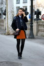 Black-zara-boots-navy-h-m-jacket-charcoal-gray-ombre-diy-shirt