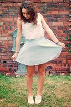 American Apparel vest - American Apparel skirt - Keds shoes
