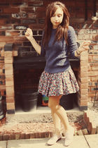 jack wills sweater - jack wills skirt