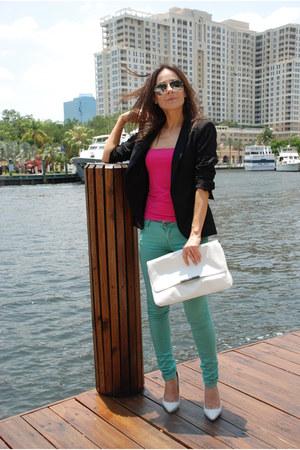 Zara pants - Zara blazer - Zara bag