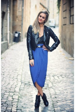 blue felicee skirt
