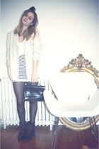 white vintage skirt