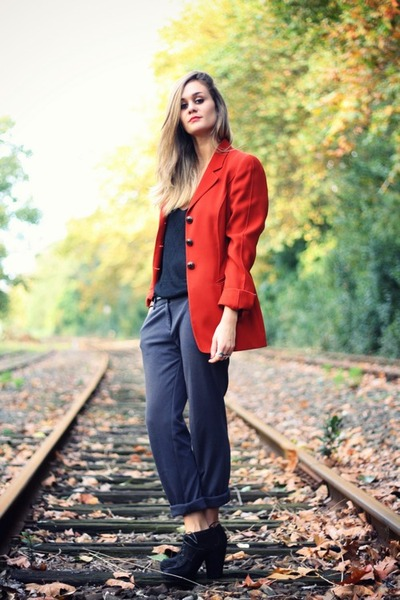 red second hand jacket