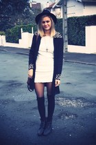 black veste blazer