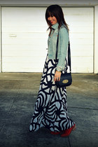 Marimekko for H&M dress - Joie boots - H&M jacket - Mulberry for Target bag