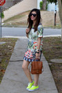 Sheinside-dress-thrifted-coach-bag-karen-walker-sunglasses
