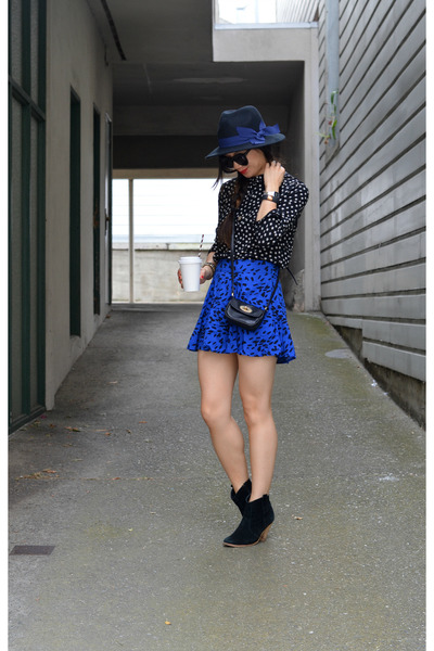 Forever 21 hat - asos boots - star print H&M Kids shirt - Mulberry x Target bag