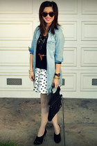 Max Studio heels - Gap sweater - H&M Kids shirt - Betsey Johnson bag