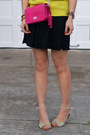 Thrifted-sweater-coach-bag-aldos-sunglasses-black-american-apparel-skirt