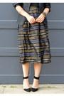 Thrifted-skirt-h-m-blazer-aritzia-top-zara-heels