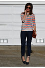 Forever-21-jeans-clare-vivier-bag-theyskens-theory-heels