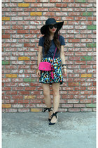 Target hat - Tommy Hilfiger shoes - coach purse - Target t-shirt
