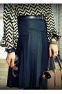 Everly-dress-club-monaco-belt-bcbg-skirt
