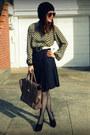 Everly-dress-club-monaco-belt-bcbg-skirt