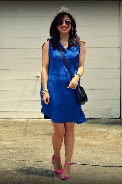 H&M dress - H&M hat - Zara sandals