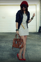 Sugar Lips dress - unknown jacket - Michael Kors bag - Gap heels