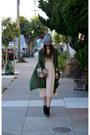 Asos-boots-vintage-unknown-brand-dress-beanie-h-m-hat-sequin-minusey-bag