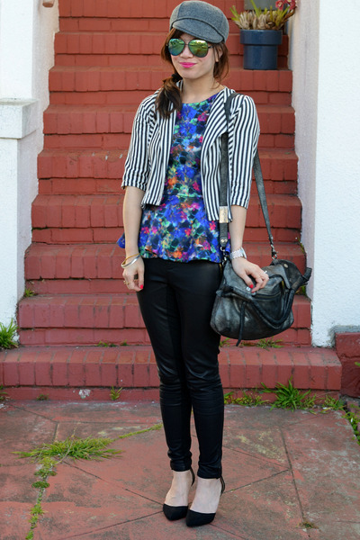 stripe Lucca Couture kids jacket - Gap hat - foley & corinna bag
